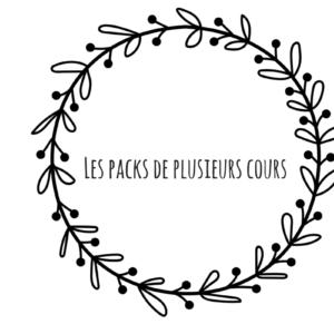 Pack de plusieurs cours