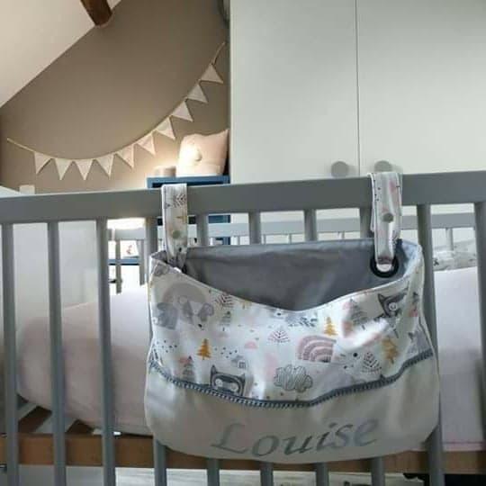 Le range doudou pour lit à barreaux