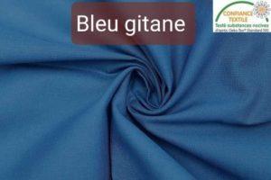 coton bleu gitane