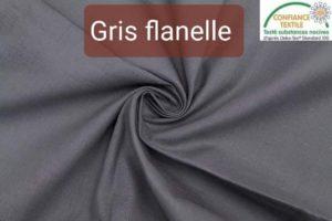 coton gris flanelle