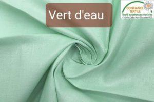 coton vert d'eau