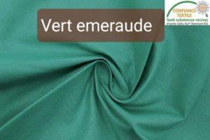 coton vert emeraude