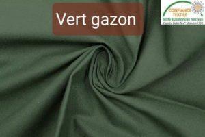 coton vert gazon