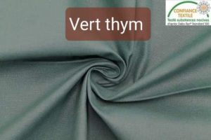 coton vert thym