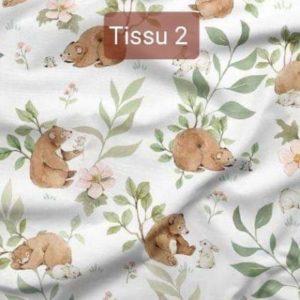 Tissu oursons