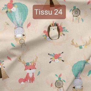 tissu 24