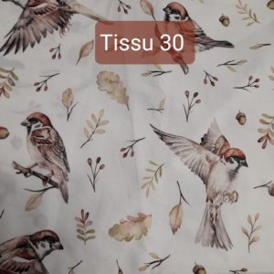 tissu 30