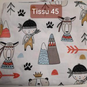 tissu 45