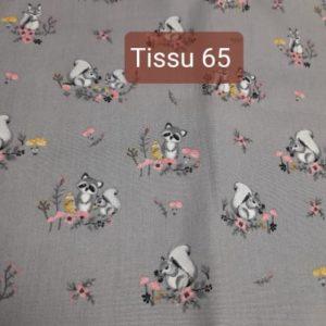 tissu 65
