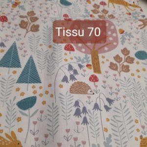 tissu 70