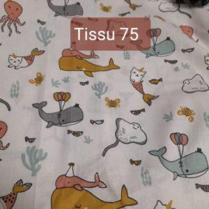 tissu 75