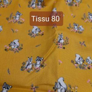 tissu 80